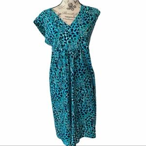 Lilly Pulitzer Giraffe Gigi Hollyhock Garnet dress